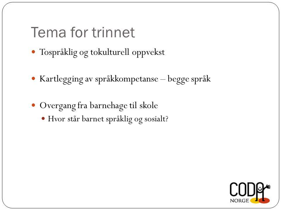 To språk – hva skiller dem.Hva er forskjellene på norsk og tegnspråk.