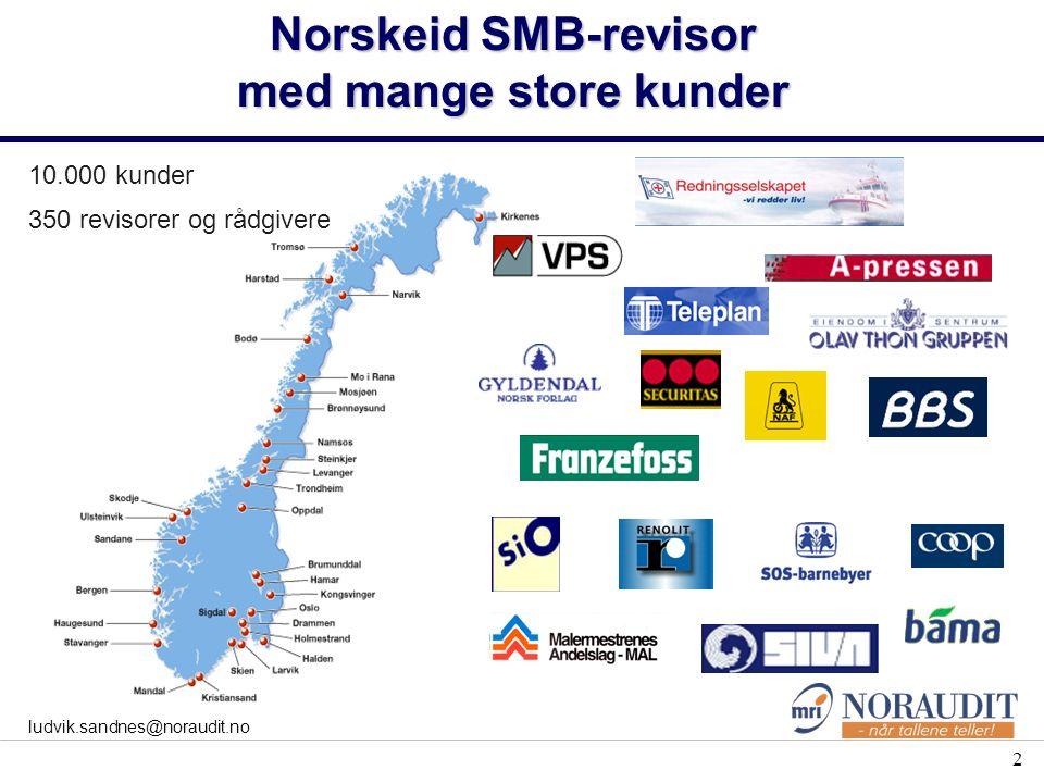 De som står bak: E IERFORUM NORSKE PENSJONSKASSERS FORENING NORSK ANBEFALING EIERSTYRING OG SELSKAPSLEDELSE (Corporate Governance) Den norske Revisorforening
