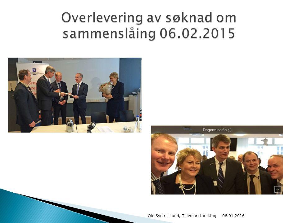 08.01.2016 Ole Sverre Lund, Telemarkforsking