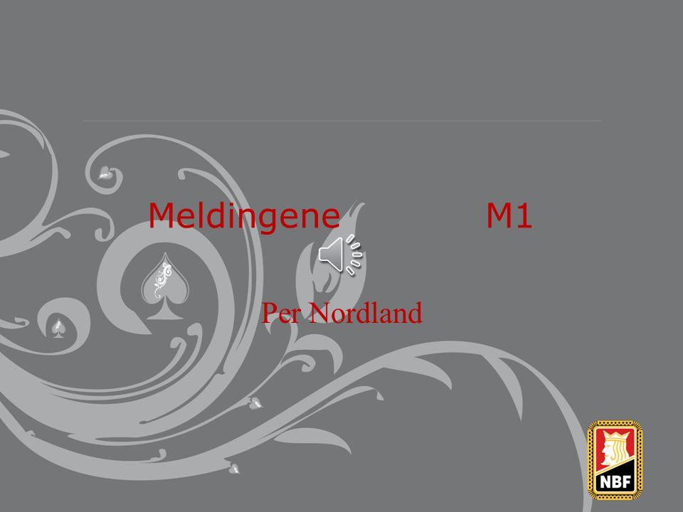 Meldingene M1 Per Nordland