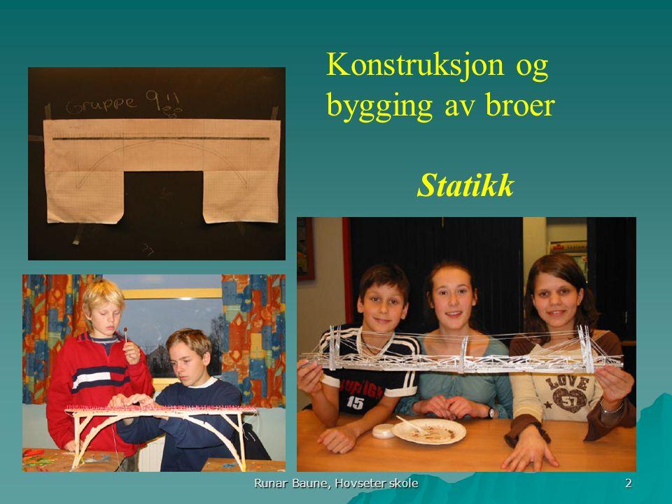 Runar Baune, Hovseter skole 13 Koplingsskjema for leiligheten