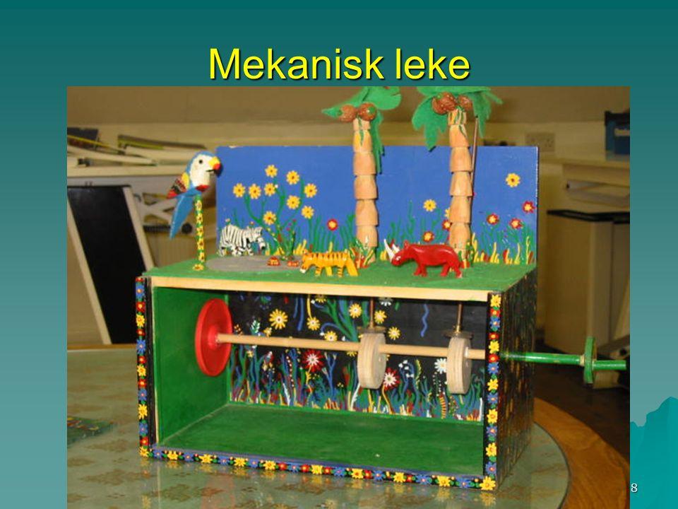 Runar Baune, Hovseter skole 8 Mekanisk leke