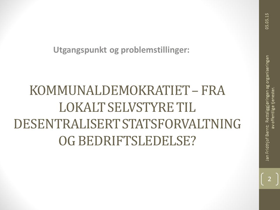 Interkommunale styrer Samkommuner INTERKOMMUNALE STYRER Koml.
