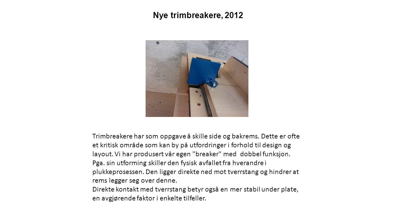 Speedi - Tear, 2012 - Bedre perf og riv linjer.- Enestående brettelinjer.