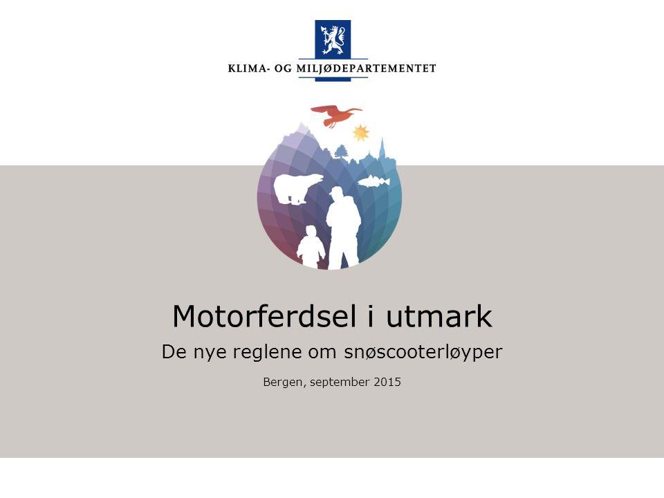 Klima- og miljødepartementet Norsk mal: Startside Har du bruk for engelsk mal.