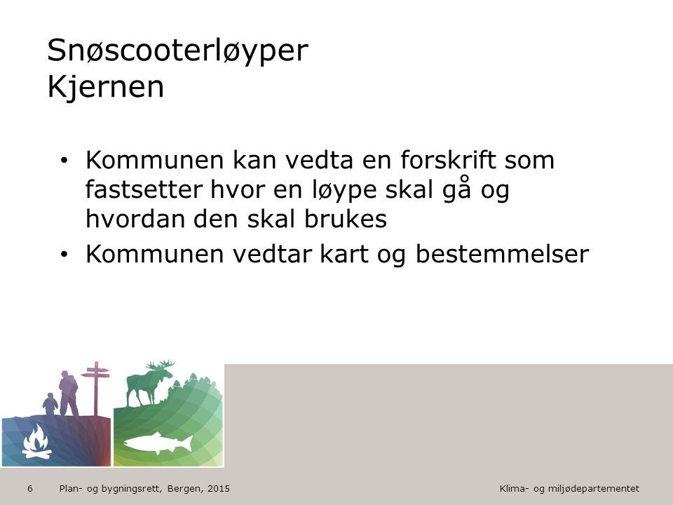 Klima- og miljødepartementet Norsk mal: Tekst med piktogram nederst HUSK: krediter fotograf om det brukes bilde Vil du endre Bunnteksten? Klikk på Top