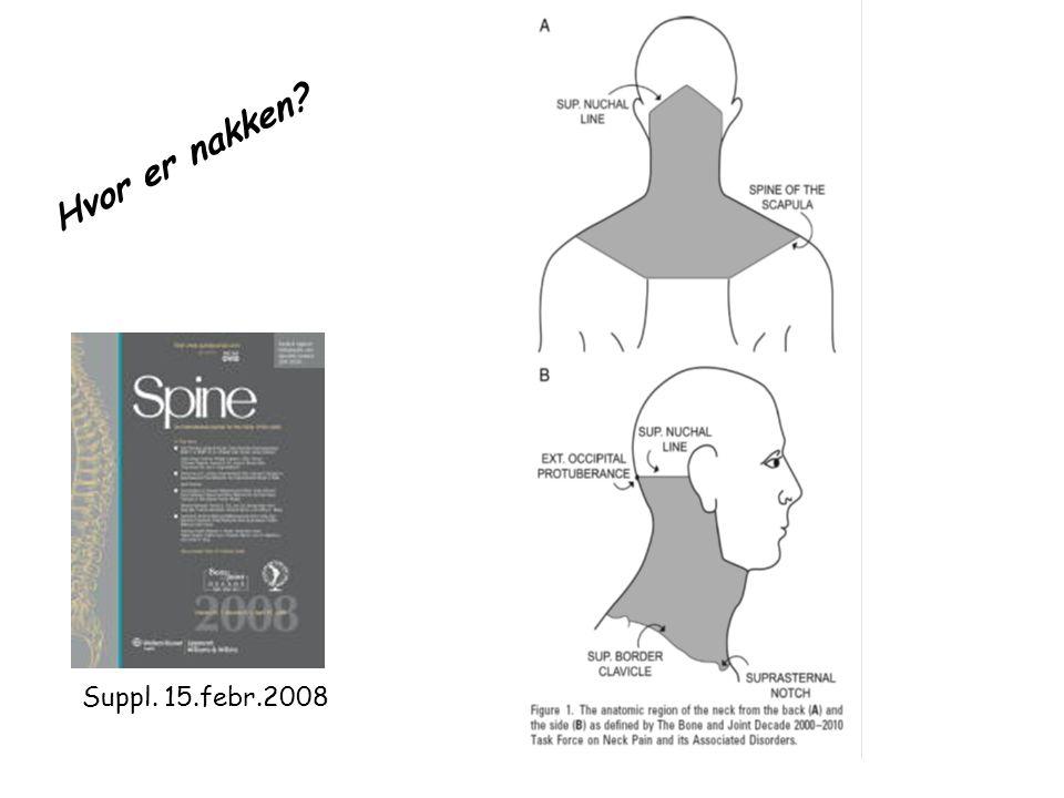 Hvor er nakken Suppl. 15.febr.2008