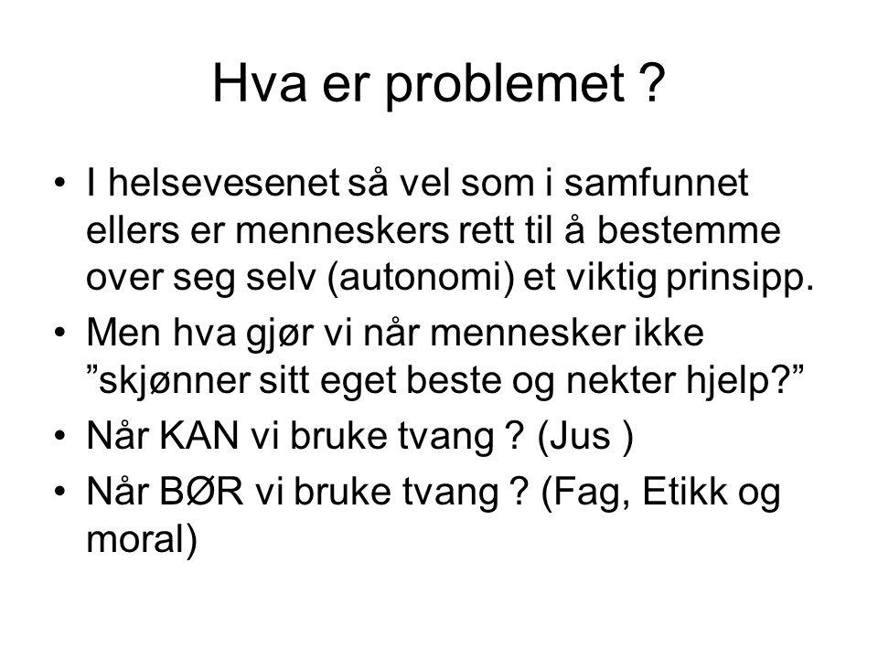 Hva er problemet .