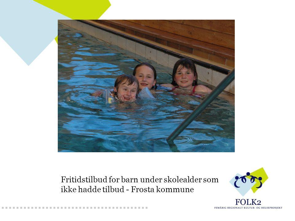 Fritidstilbud for barn under skolealder som ikke hadde tilbud - Frosta kommune