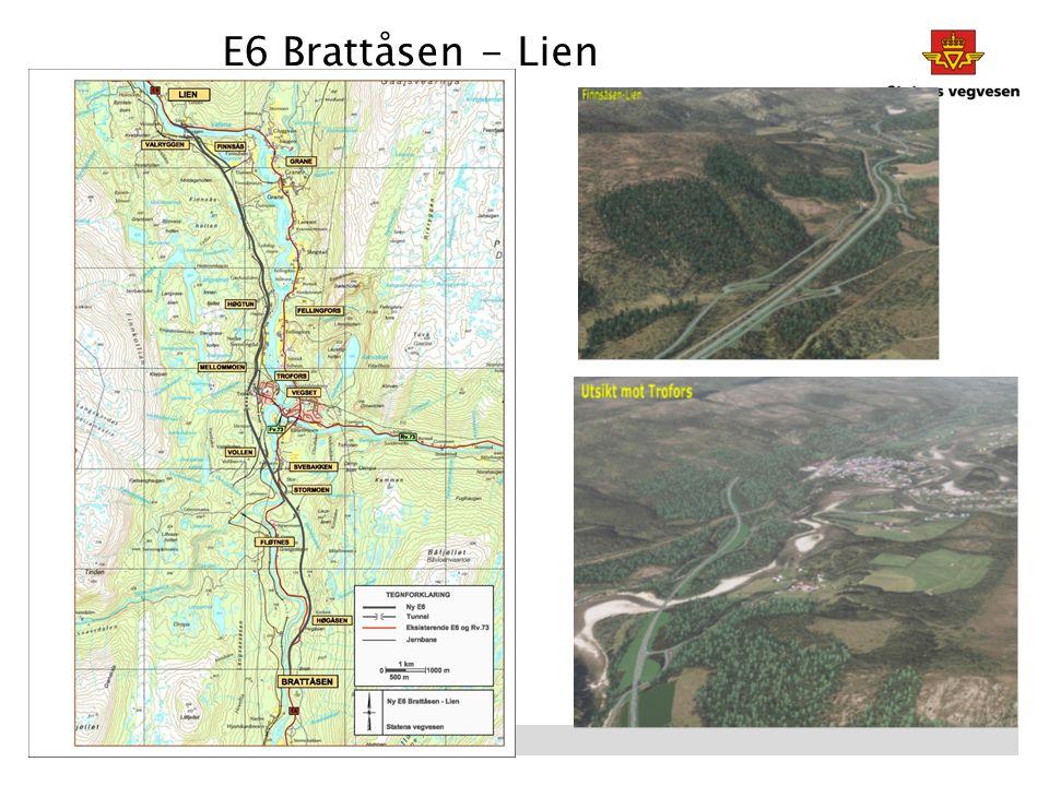 E6 Brattåsen - Lien