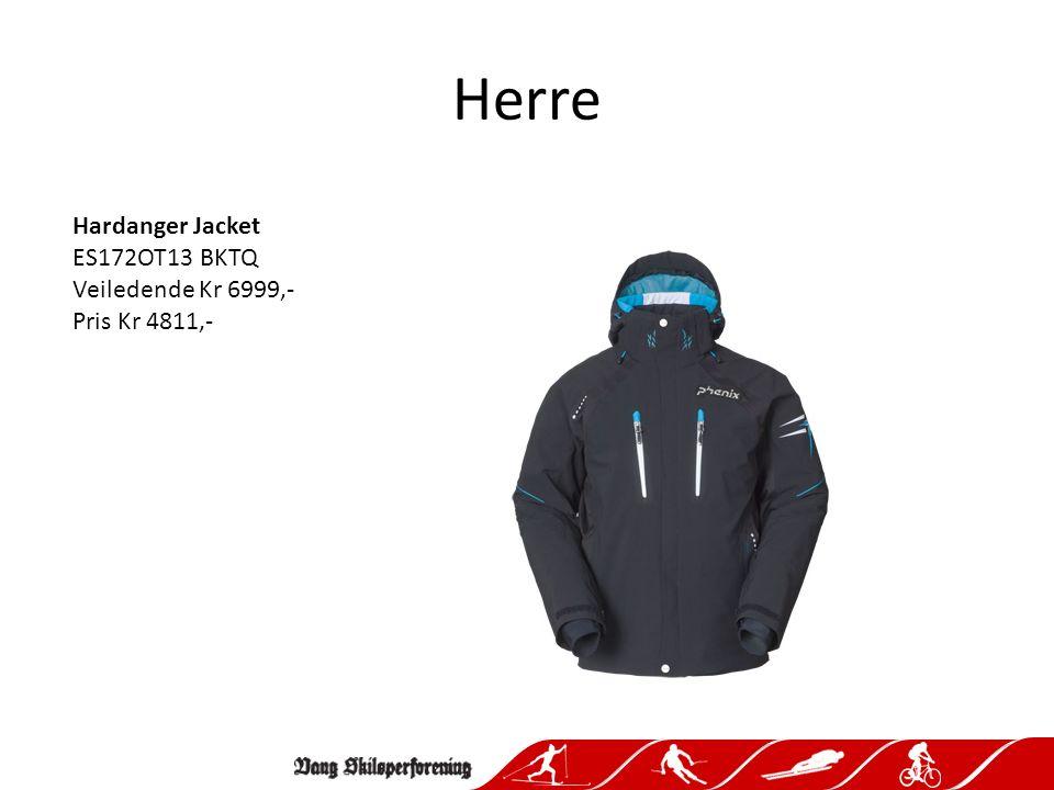 Herre Hardanger Jacket ES172OT13 BKTQ Veiledende Kr 6999,- Pris Kr 4811,-