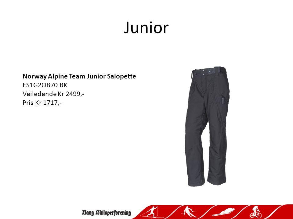 Junior Norway Alpine Team Junior Half Pants ES1G2GB75 BK Veiledende Kr 1299,- Pris Kr 892,-