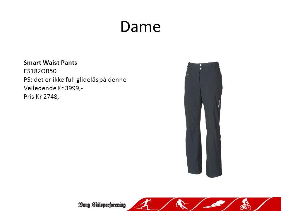 Dame Smart Waist Pants ES182OB50 PS: det er ikke full glidelås på denne Veiledende Kr 3999,- Pris Kr 2748,-