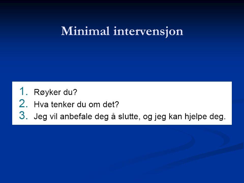 Minimal intervensjon