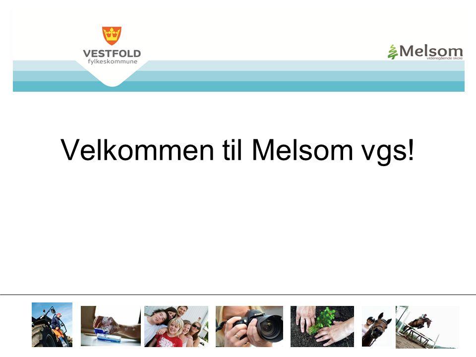 mvs.vfk.no Velkommen til Melsom vgs!