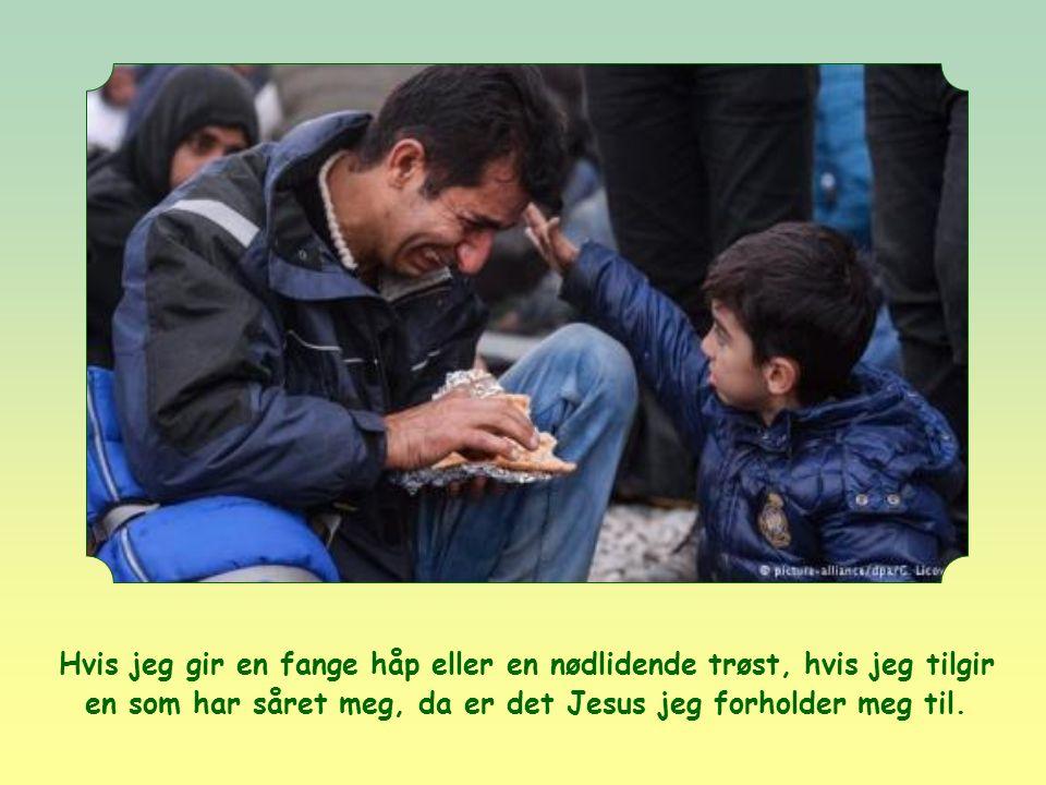 Hvis jeg hjelper mamma med å gjøre rent hjemme, hjelper jeg Jesus.