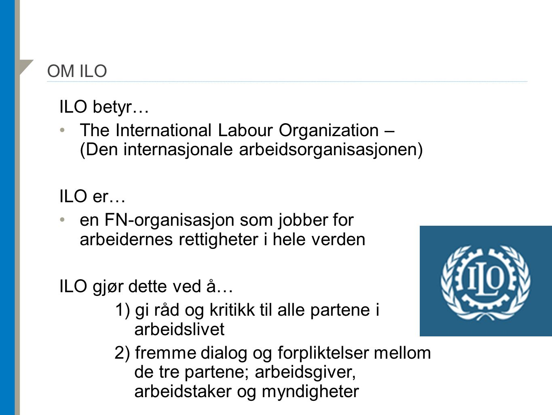 ILO-PROGRAMMET I KAMBODSJA: «BEDRE FABRIKKER»