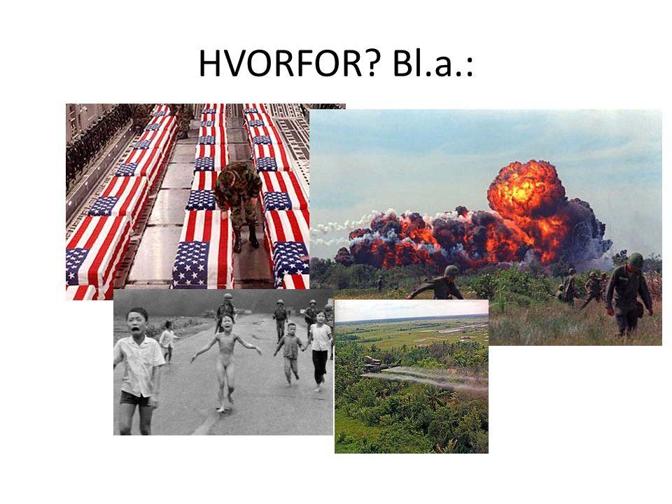 1975: Krigen slutt.USA TAPTE. Resultat: Vietnam selvstendig.