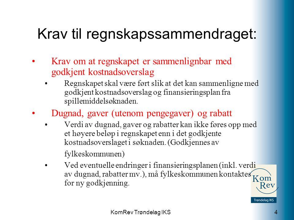 KomRev Trøndelag IKS Div.