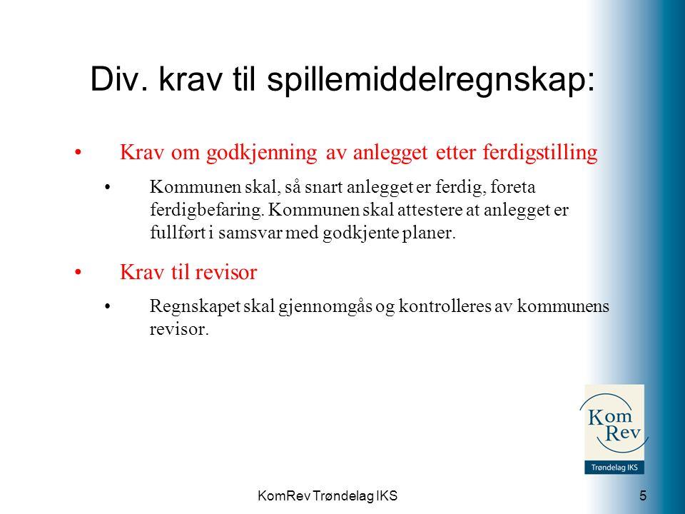 KomRev Trøndelag IKS Spørsmål.