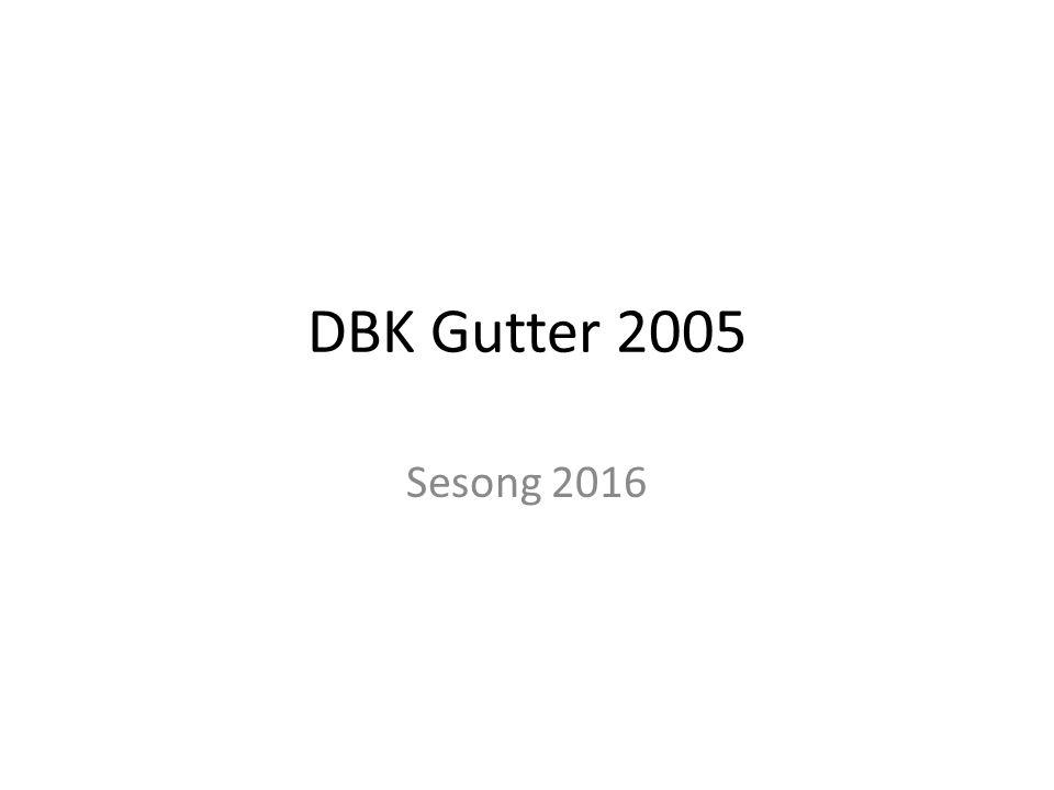 DBK Gutter 2005 Sesong 2016