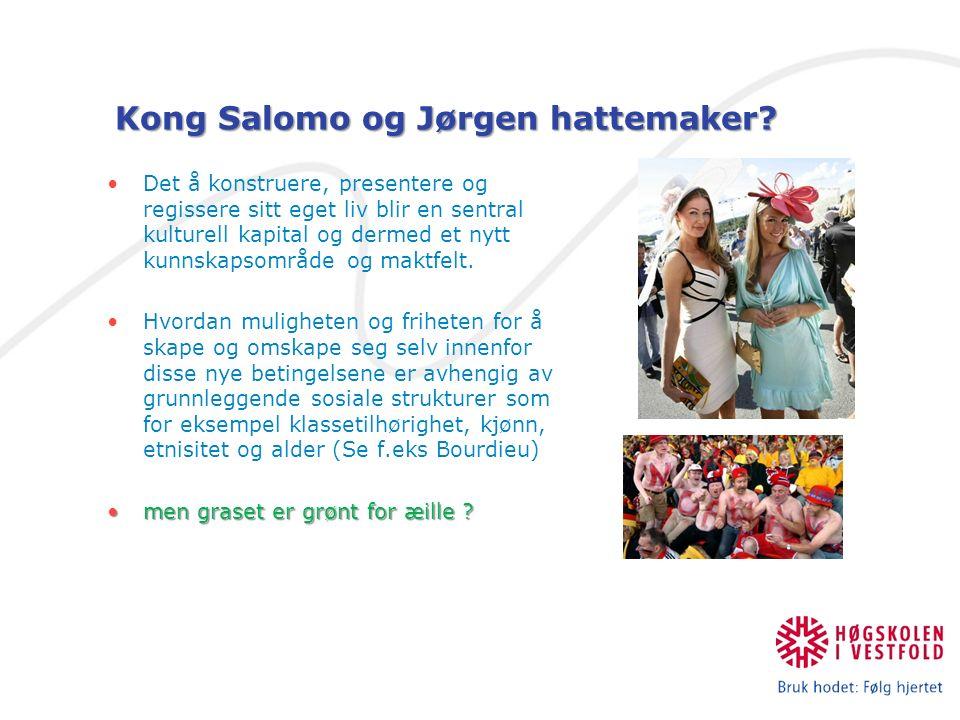 Kong Salomo og Jørgen hattemaker.