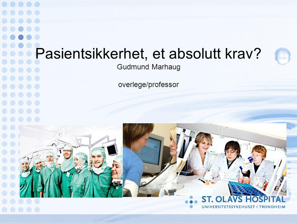 Hvorfor standardisering (2) Mange aktører, både offentlige og private, i et pasientforløp… Mange forvaltningsnivåer i et pasientforløp… For pasienten: –Forutsigbarhet –Informasjon