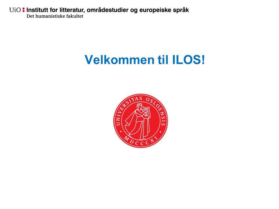 Velkommen til ILOS!