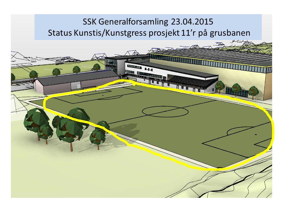 SSK Generalforsamling 23.04.2015 Status Kunstis/Kunstgress prosjekt 11'r på grusbanen