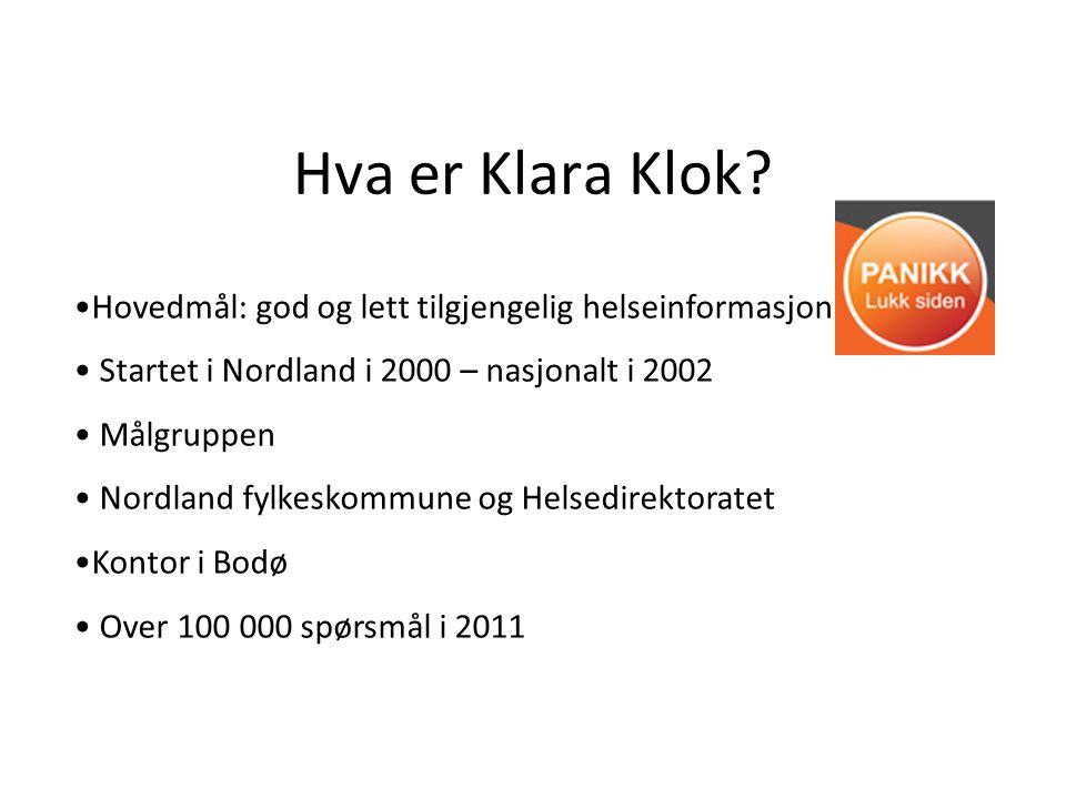 Hva er Klara Klok.
