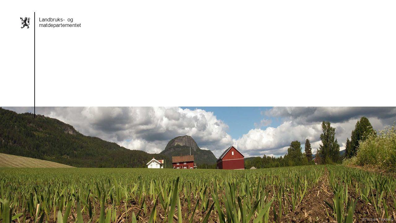 Landbruks- og matdepartementet Norsk mal: Sluttside Alternativ 4 Landbruks- og matdepartementet ©Torbjørn Tandberg ©Jon Marius Nilsson