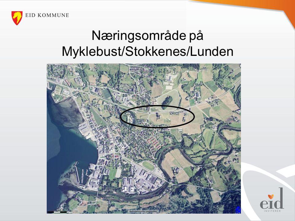 Næringsområde på Myklebust/Stokkenes/Lunden