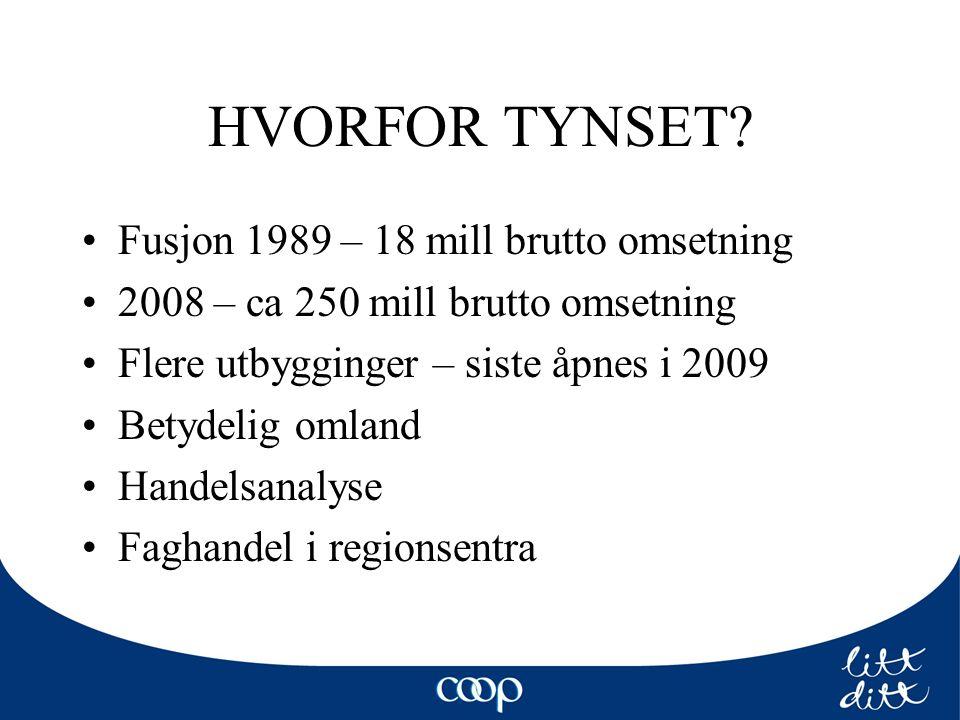 HVORFOR TYNSET.