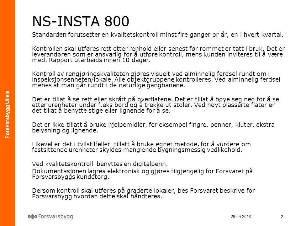 Forsvarsbygg Utleie 26.09.20163