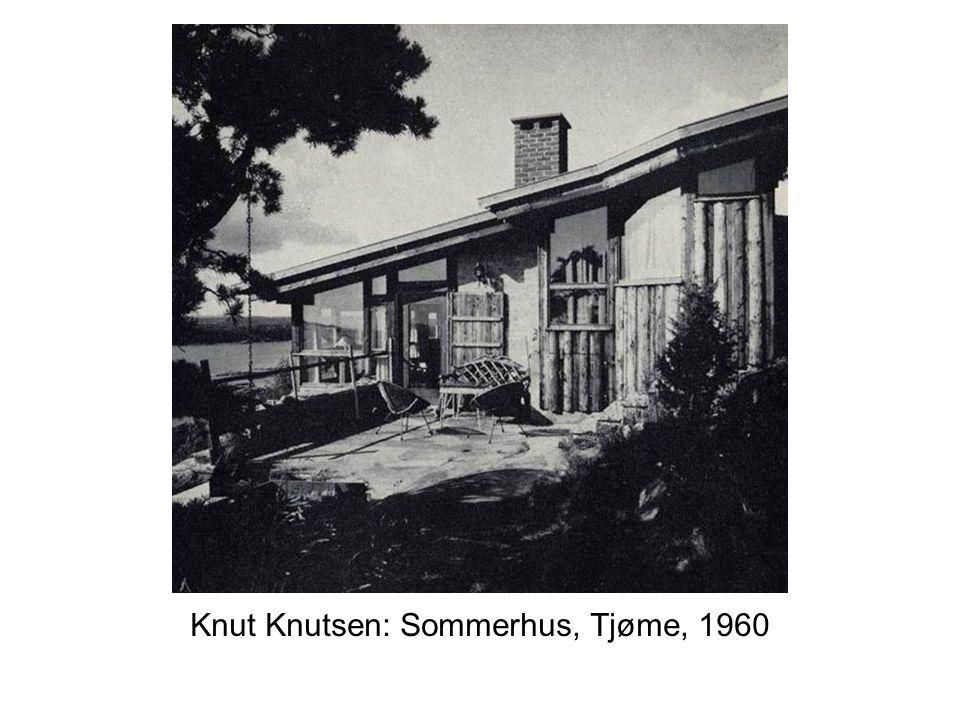 Knut Knutsen: Sommerhus, Tjøme, 1960
