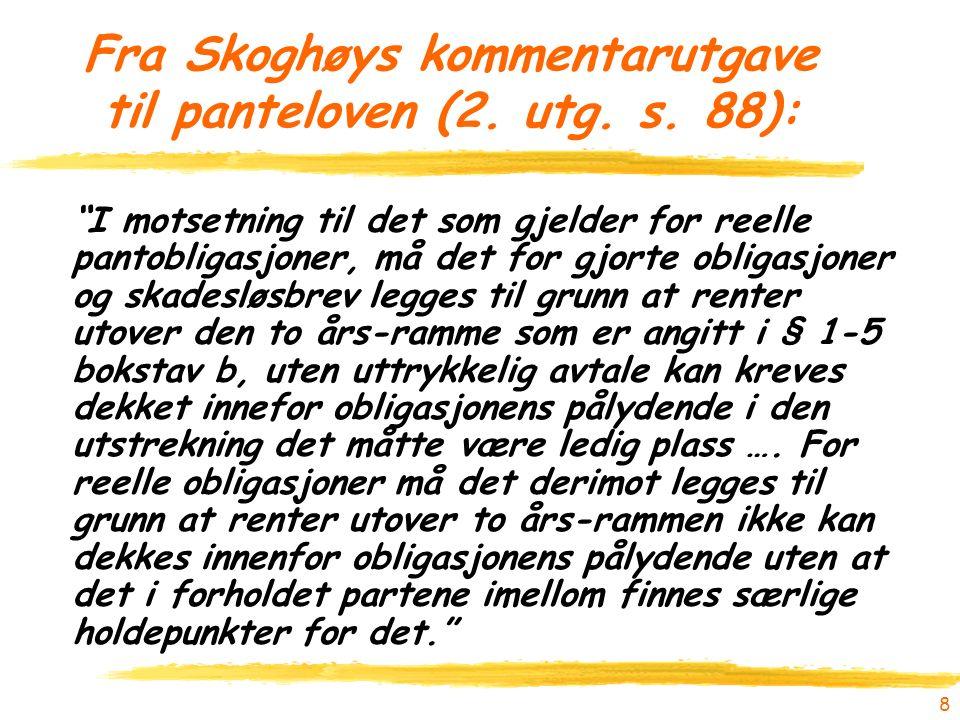 8 Fra Skoghøys kommentarutgave til panteloven (2. utg.