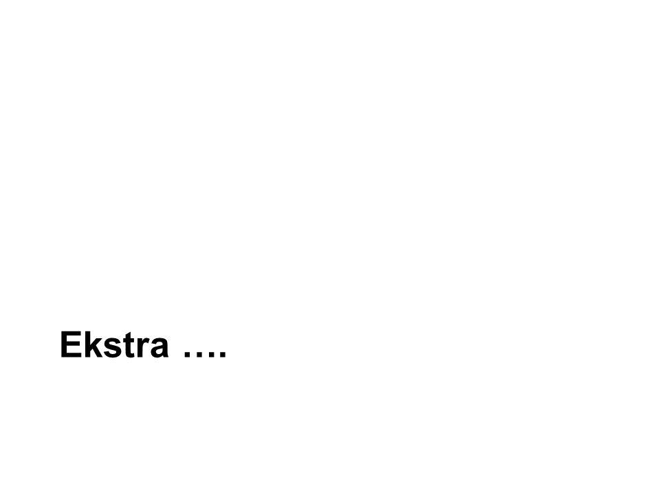 Ekstra ….