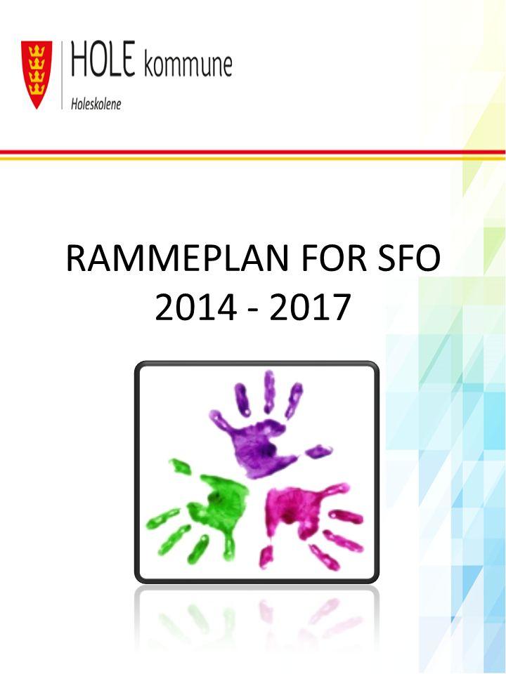 OVERORDNEDE MÅL Det overordnede målet for SFO er å sikre trygge og stimulerende oppvekstsvilkår i nær forståelse og samarbeid med barnas hjem.