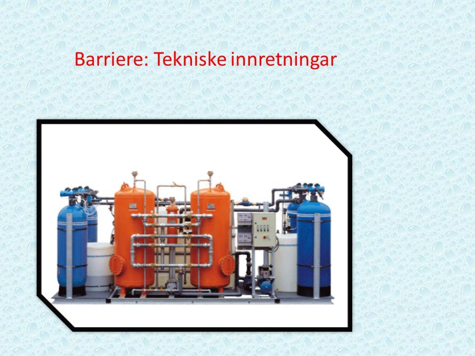 Barriere: Tekniske innretningar
