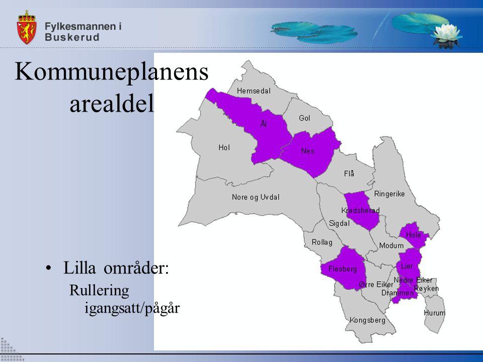 Kommuneplanens arealdel Lilla områder: Rullering igangsatt/pågår