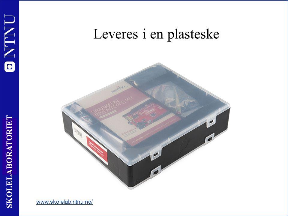 3 SKOLELABORATORIET Leveres i en plasteske www.skolelab.ntnu.no/