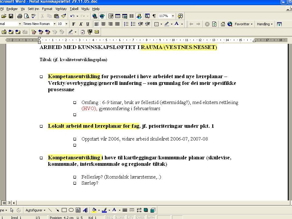 Kåre J. Straume Skuleleiarmøte 13.12.05 4 PROBLEMSTILLING 1: KVA MÅ SAMLINGA INNEHALDE AV TEMA FOR AT SKULELEIARANE KAN LEIE IMPLEMENTERINGA I TRÅD ME