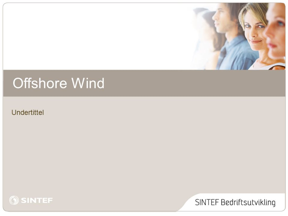 Undertittel Offshore Wind