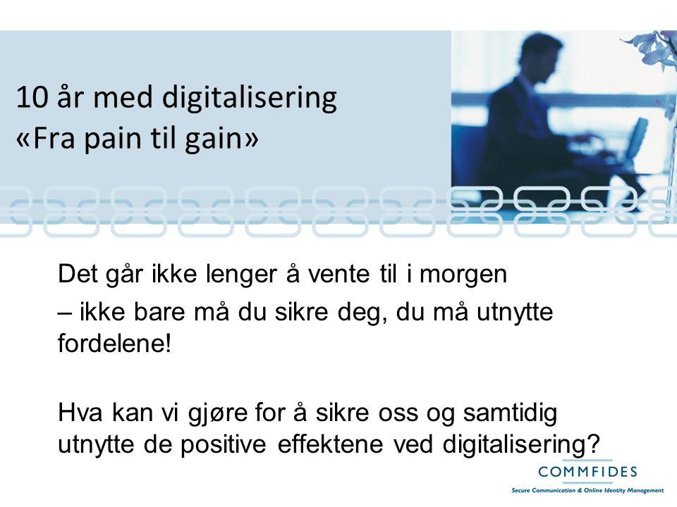 Hvilket forhold har vi egentlig til digitalisering?