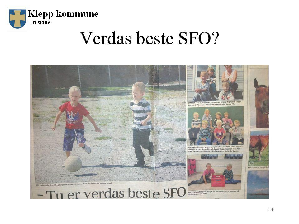 Verdas beste SFO? 14