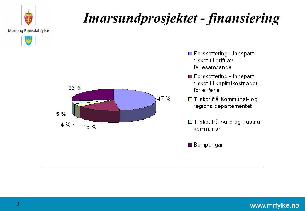 www.mrfylke.no 3 Imarsundprosjektet - finansiering