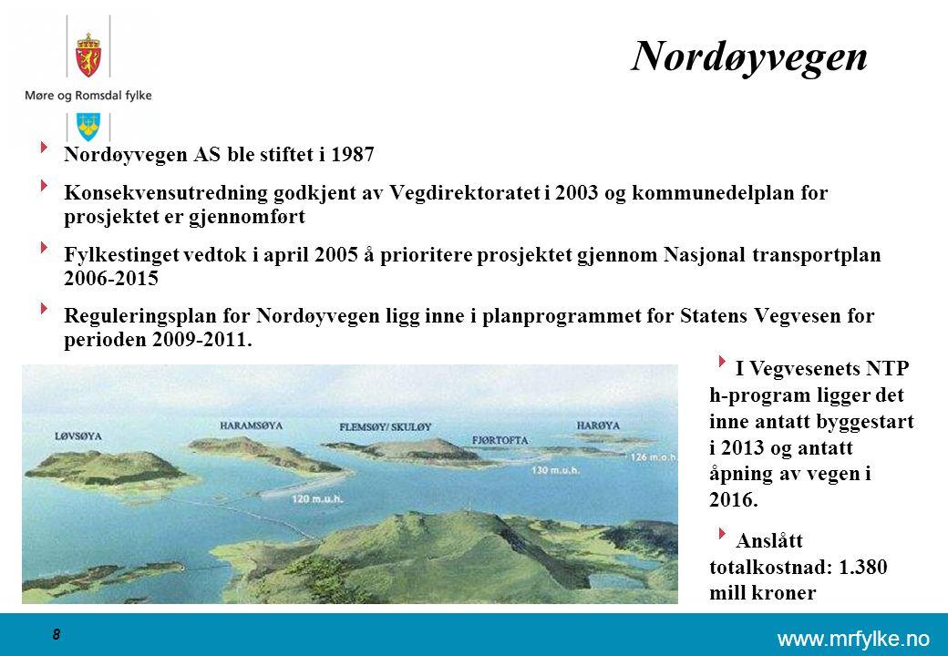 www.mrfylke.no 19 Fjordkryssing Romsdal Molde 7 3 1 5c 5.2 2.2 6 5 4 2 5b5a 5.2 5.1 2.1 2.3 Dagens stamvei Møreaksen - Drynaalternativet Møreaksen - Midsundalternativet Tautraalternativet 5.1 Tunnelalternativet 5.2 Brualternativet 5.2 Fase 1 ferge 5a Ørskogsfjellet 5b Solnørdalen 5c Stette Innkortet ferjestrekning Sekkfast 2.1 Fergealternativet 2.2 Tunnelalternativet 2.3 Hjelvik – Skåla Langfjordtunnelen