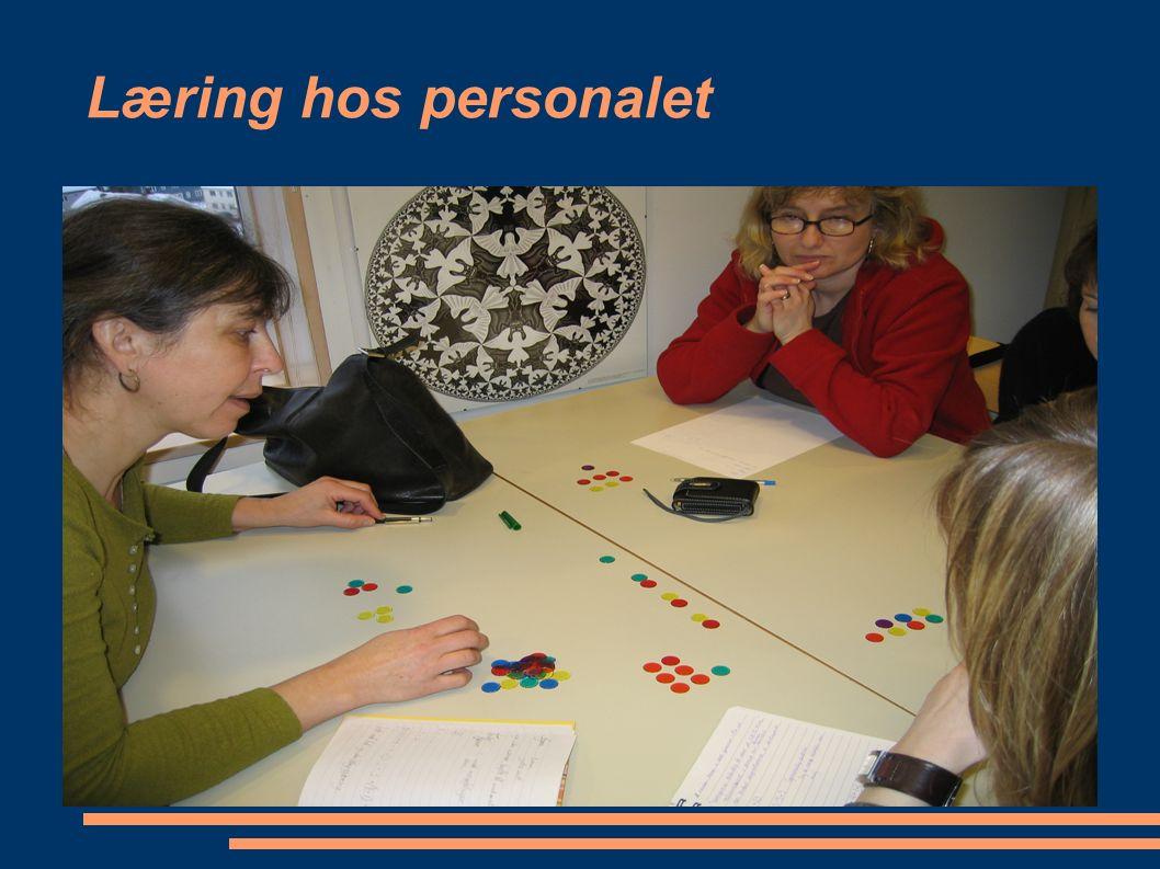 Læring hos personalet