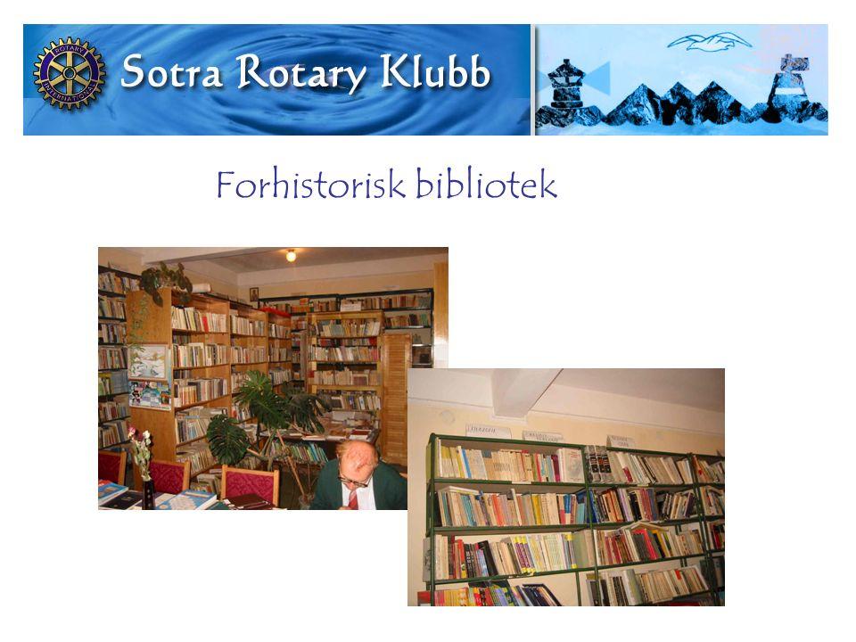 Forhistorisk bibliotek