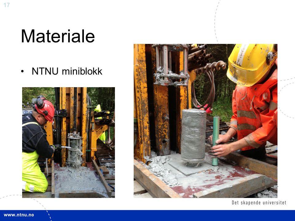 17 Materiale NTNU miniblokk